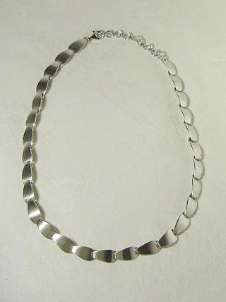 Tolle Collierkette - Art Deco,  925er Silber /antikschmuck / Juwelierarbeit/ 33 G Bild