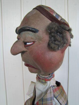 Alte Antike Kasperpuppe Handspielpuppe Künstlerpuppe Puppe Sehr Gut Erhalten Bild