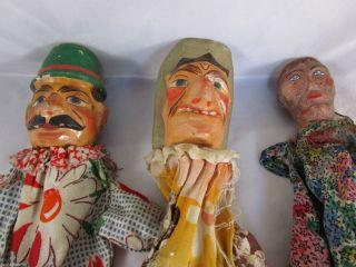 Uralt Konvolut Marionette Kasper Puppe Gardist Holzkopf,  Masse Frau Bild
