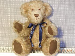 Teddybär Einzelstück Handgefertigt Unikat Alle Gelenke Beweglich Zur Dekoration Bild