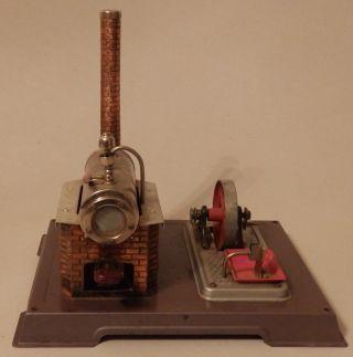 Alte Wilesco Dampfmaschine Ersatzteilspender Bild