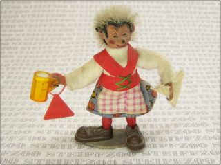 Peter Figuren Mecki Kellnerin Serviererin Old Waitress Server Figure Bild