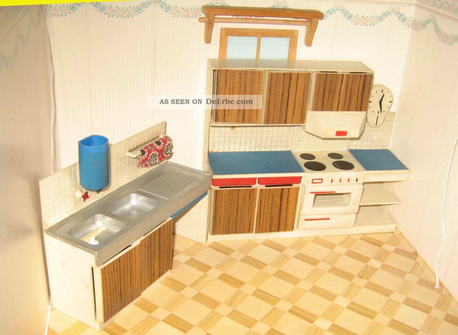 Konvolut vero mobel kuche schrank puppenstube puppenhaus for Puppenhaus küche