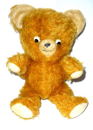 Dachbodenfund,  Alter Teddy Gestickte Nase U.  Mund,  Bewegl.  Arme,  Beine,  Kopf,  Glasaugen Bild