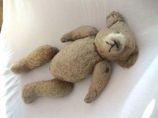 Sehr Alter Teddy - Bär Aus Den 40er Jahren Aus Frankreich Bild