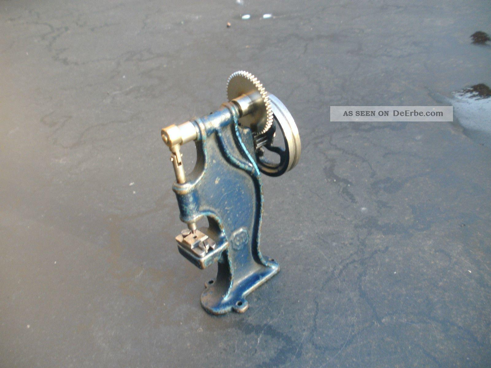 Märklin Exenterpresse Für Dampfmaschine Steam Engine Steam Toy Gefertigt vor 1945 Bild