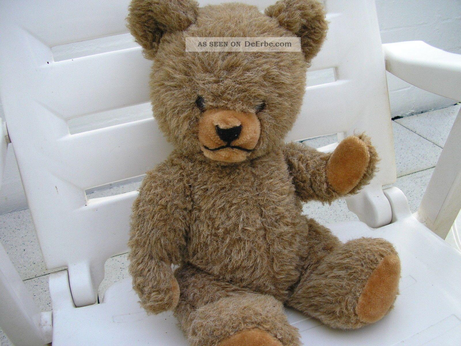 sehr alter teddy mit einer b renstimme. Black Bedroom Furniture Sets. Home Design Ideas