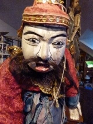 Marionette,  Asien,  63cm,  Alt. Bild