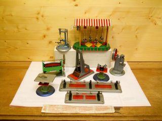 (73) Wilesco 10 Teile Antriebsmodelle Für Dampfmaschine Bild