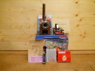 (78) Schöne Wilesco Dampfmaschine D 6 Noch Nie Befeuert Mit Karton Und Zubehör Bild