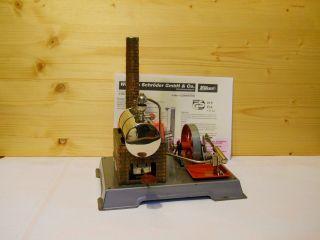 (72) Alte Wilesco Dampfmaschine D 5 Schwungrad Mit Sechs Speichen Bild