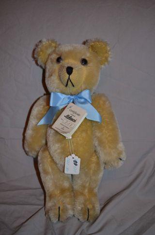 Schuco Tricky Bär Teddy Limitierte Edition 74 Cm Brummer Aufziehpuppe Nr.  717 Bild
