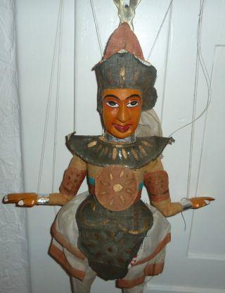 Alte Marionette,  Reine Handarbeit,  Sehr Groß,  Interessant Gearbeitet, Bild