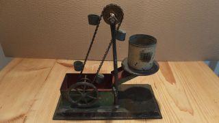 Bing Von 1909,  Dampfmaschinen Antriebsmodell,  Bagger,  Schöpfwerk,  Nr.  9956 / 296 Bild