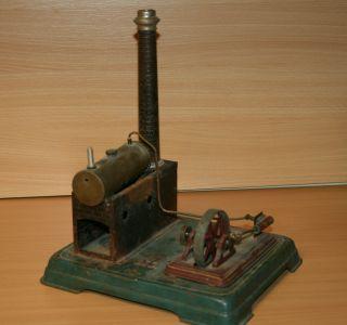 Alte Dampfmaschine Dc Doll,  Zum Restaurieren,  Teileträger Bild