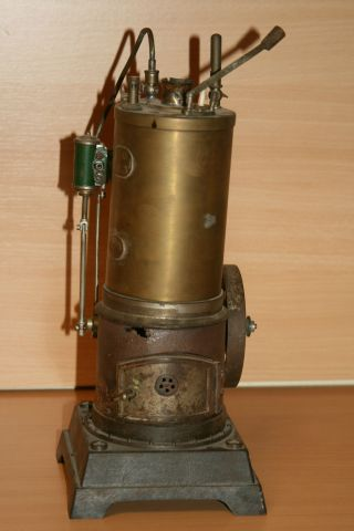 Dampfmaschine,  Stehender Kessel,  Märklin?? Bild