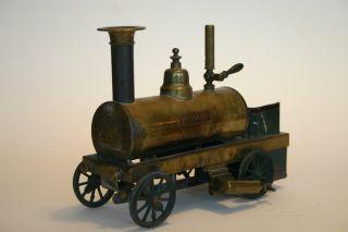 Uralte Spiritus - Lokomotive Der Fa.  Ernst Plank,  Nürnberg,  Vor 1895 Bild