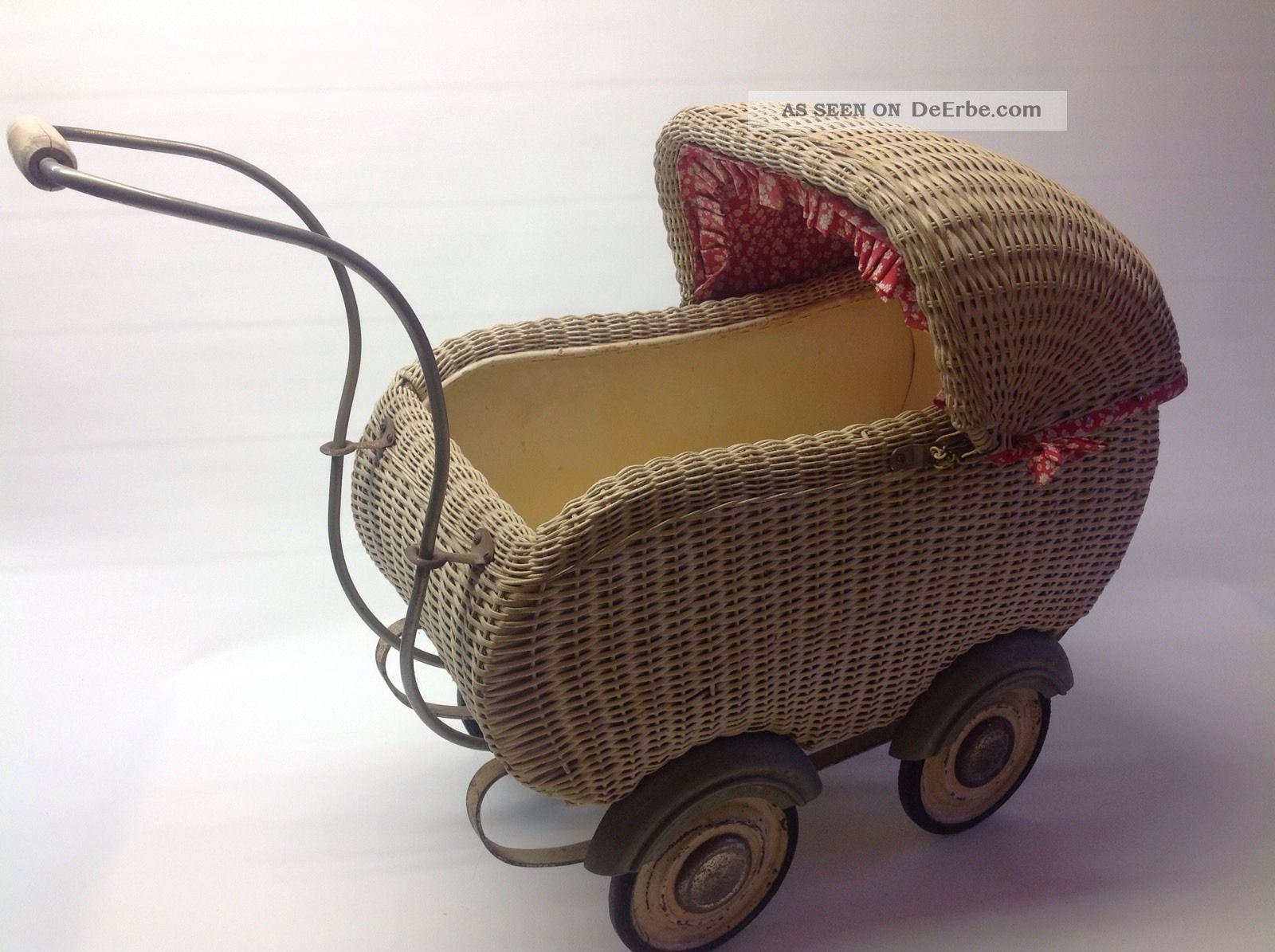 Antikspielzeug puppen zubehör puppenwagen original