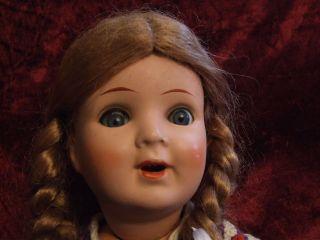 Süße Alte Kwg - Puppe Bild