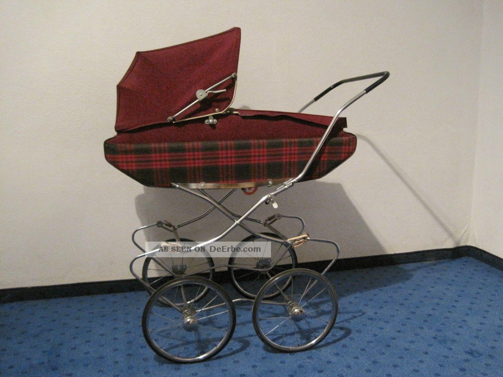 nostalgie puppenwagen 60er retro kult kinderwagen f r. Black Bedroom Furniture Sets. Home Design Ideas
