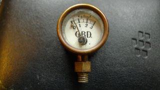 Gbd,  Bischoff Dresden,  Manometer Für Dampfmaschine Bild
