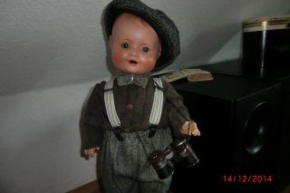 Antike Puppe 58 Cm,  Massepuppe Sonneberg Bild