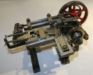 Antriebsmodell Metallbearbeitung Stanze Dampfspielzeug Maerklin Doll Carette Bild