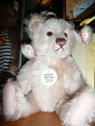Steiff Teddy Rose Replica 1925,  Limit.  Auflage 25 Cm,  8000 St. Bild