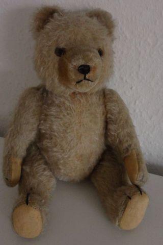 Alter Teddybär Für Liebhaber Teddy 30 Cm Bewegliche Gelenke Bild
