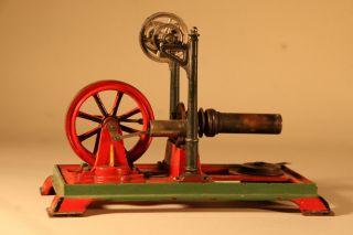 Alter Heißluftmotor Von Ernst Plank Bild