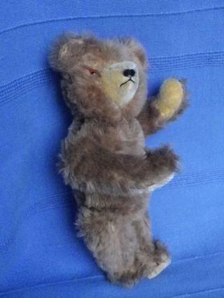 Alter Teddybär - Ca.  30 Cm Hoch - Glasaugen/stimme Bild