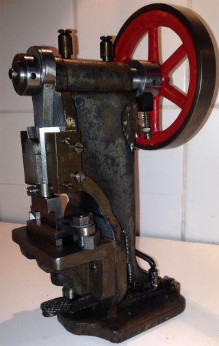 Antriebsmodell Exzenter Presse Stanze - Dampfspielzeug Märklin,  Doll,  Bing Gbn Bild
