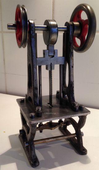 GattersÄge - Antriebsmodell Dampfspielzeug Doll,  Bing,  MÄrklin Ca 1920 Bild