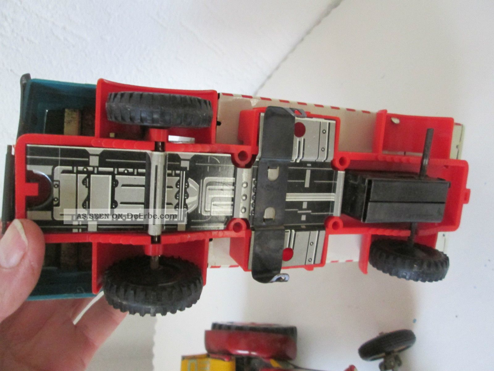 Ddr spielzeug auto blech und traktor ms msb kdm
