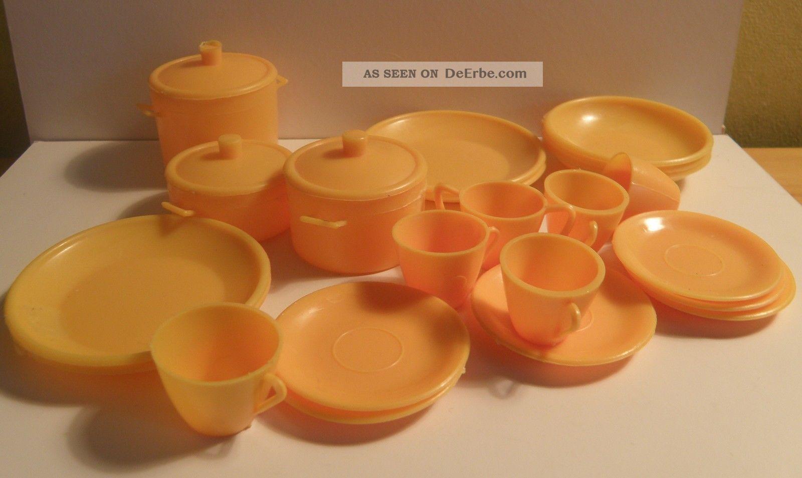 Geschirr plastik miniatur f r die puppenstube ddr for Schaukelstuhl ddr