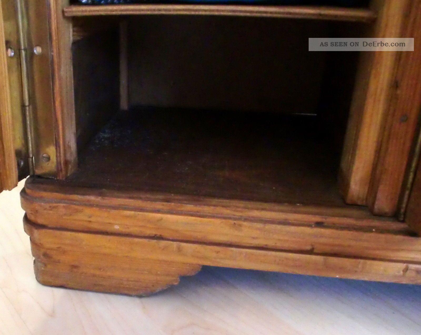 Charmant Puppenschrank Holz Fotos - Die Schlafzimmerideen - kruloei.info