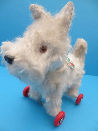 Rolly Toy Terrier Hund Made In Western Germany 60er Jahre Rare Bild