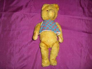 Sehr Alter Teddybär,  Kopf/gliedmaßen Beweglich,  Handaufzug Spieluhr Bild