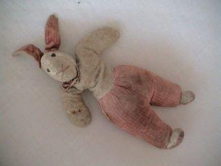 Sehr Alter Plüsch - Hase Aus Den 40er/50er Jahren Aus Frankreich Bild