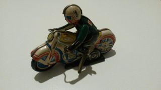 Blechspielzeug Motorrad Bild