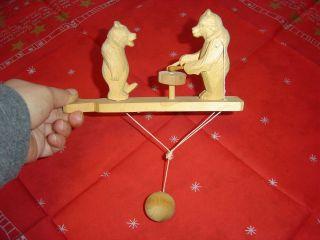 Tanzende Und Musizierende Bären Spielzeug Der Ehemaligen Udssr Cccp Jahr 1978 Bild