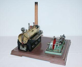 Imposante Fleischmann Dampfmaschine 130/2 - Die Zweitgrößte Von Fleischmann Bild