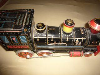 Lok,  Lokomotive,  Frontier,  Modern Toys,  Patent 557116,  Bespielt Bild