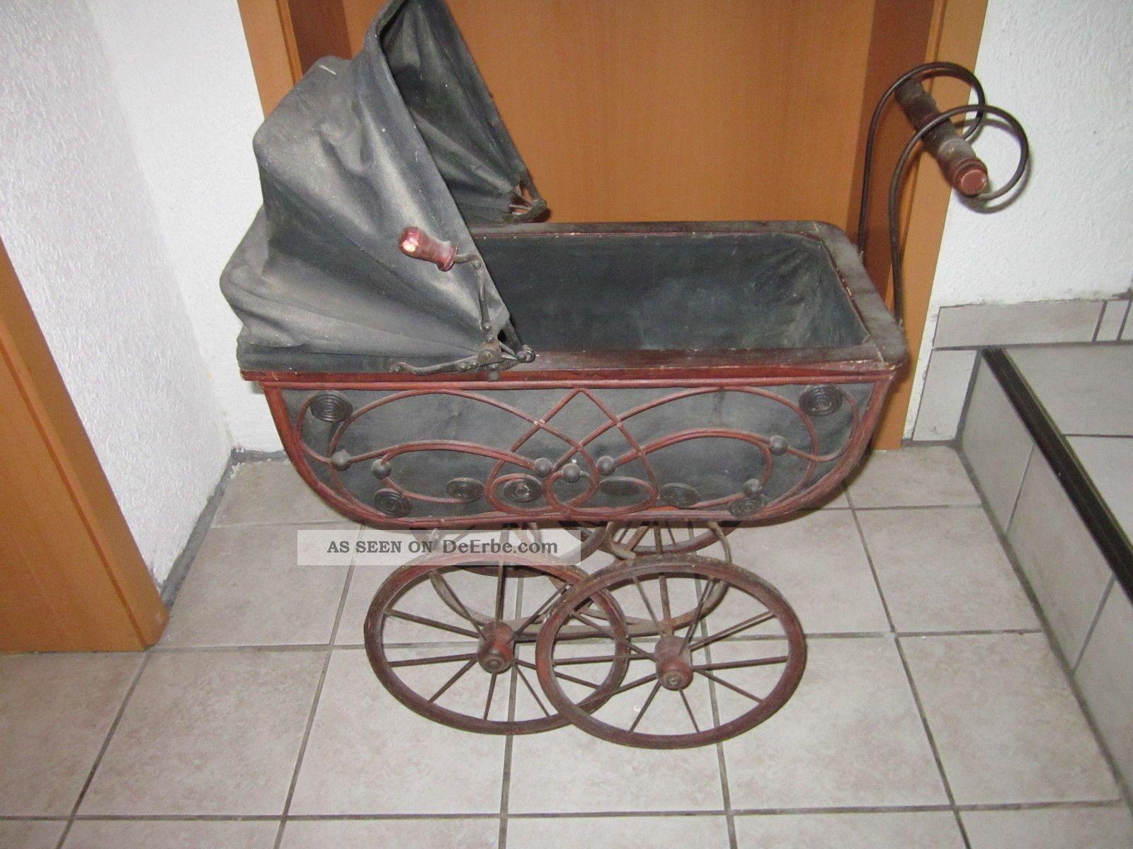 Antikspielzeug puppen & zubehör puppenwagen antiquitäten