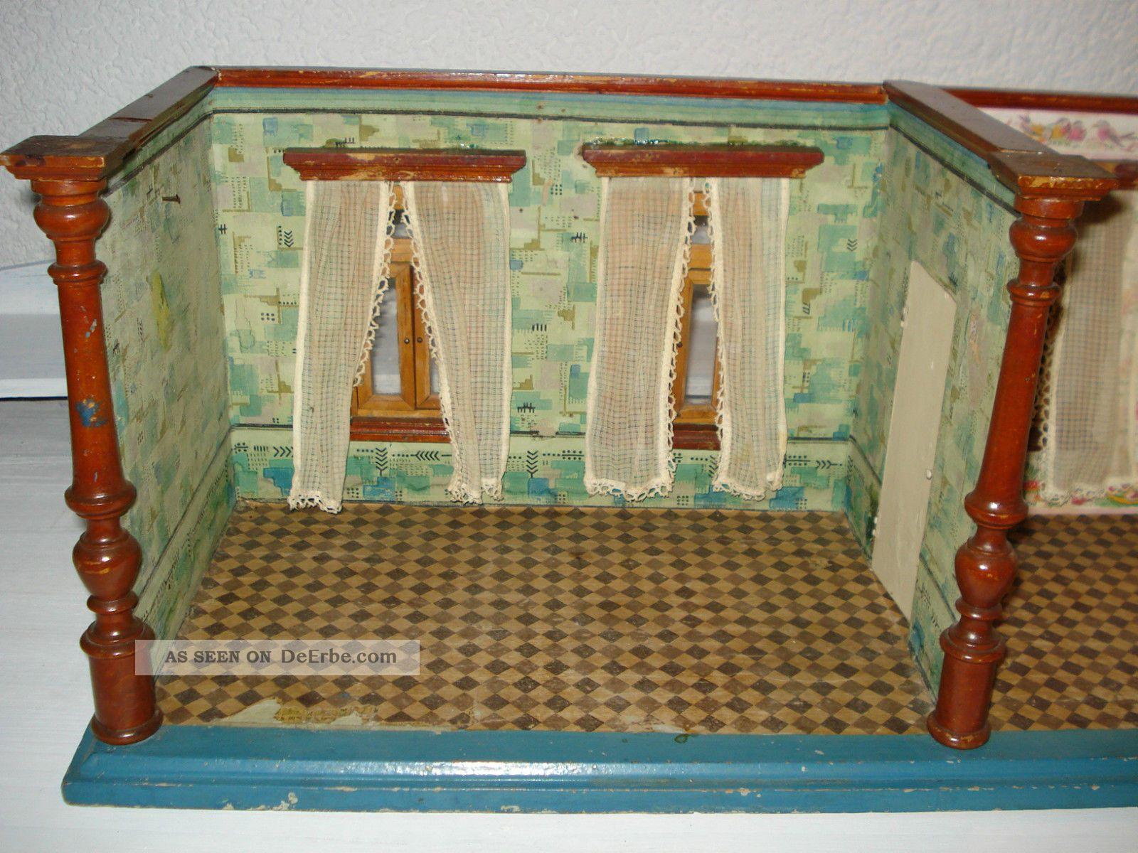 Fußboden Tapete ~ Alte antike puppenstube um alte tapete und fußboden