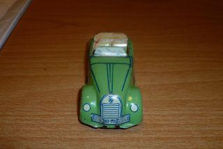 Blechspielzeug Pkw Cabriolet Grün Kennzeichen Bo - 1935 Rollfahrzeug Fabrikat ? Bild