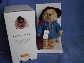Steiff Teddy Teddybär Paddington V.  2007 - 29cm - Nr.  354724 - Limitiert - Neuwertig Bild