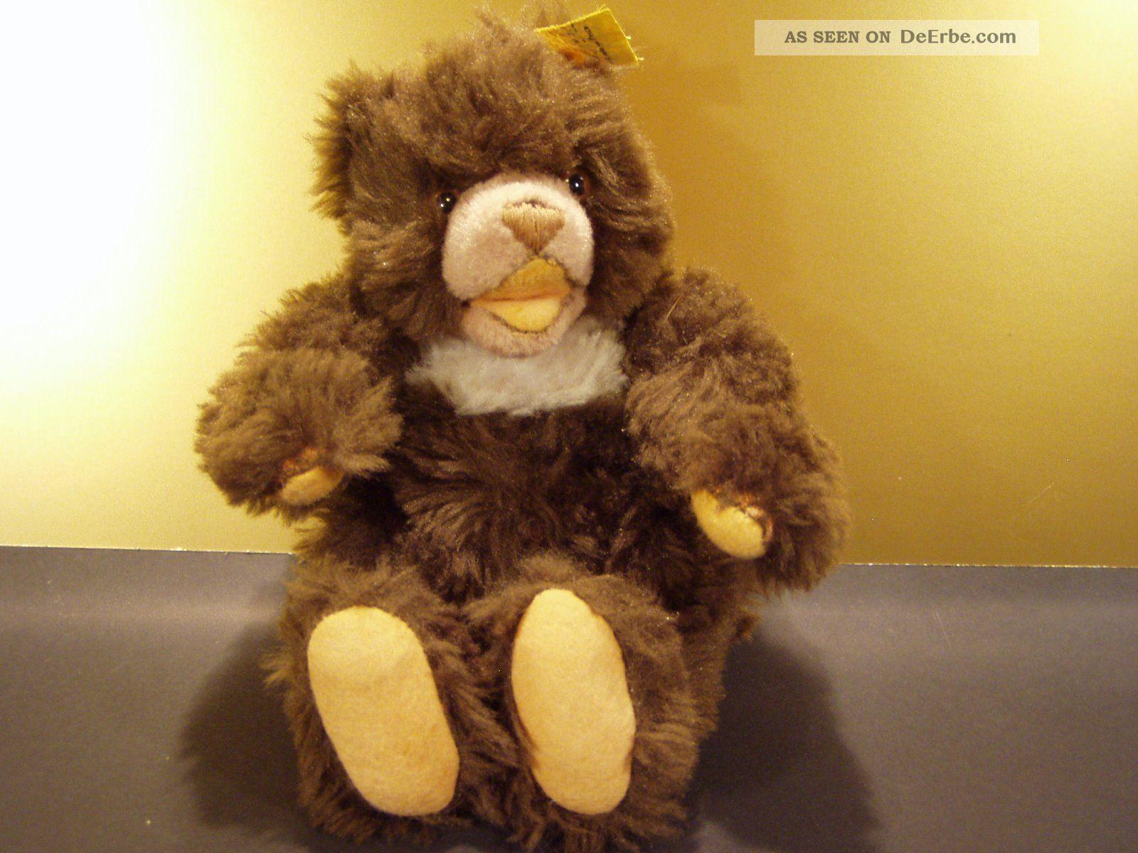 steiff cosy teddy 1968 75 fahne silberknopf antique german bear ours en peluche. Black Bedroom Furniture Sets. Home Design Ideas