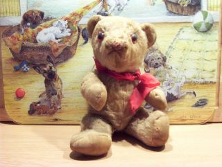 Sehr Alter Teddybär Aus Nachlass Bild
