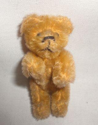 Alter Kleiner Schuco Teddy Bär Für Die Puppenstube Bild